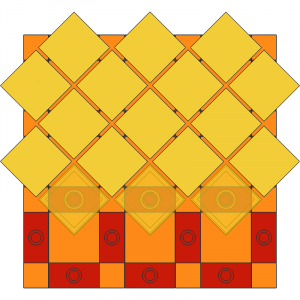 2 x 2 Tile Twisted on Jumper