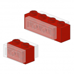 Technic Brick with Plate in Holes
