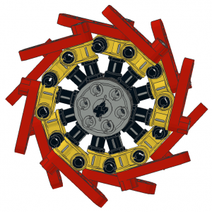 Technic Escapement Wheel