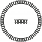 Train Track Ring