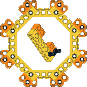 Technic Brick Octagon