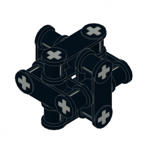 Technic Axle/Pin/Axle Connector Cube