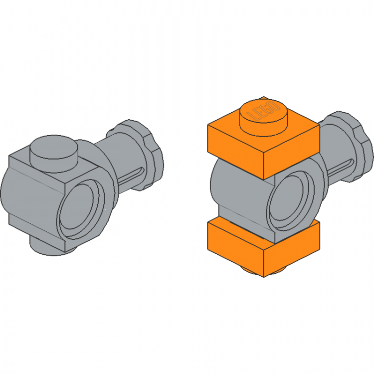 Technic Axle Pin Connector